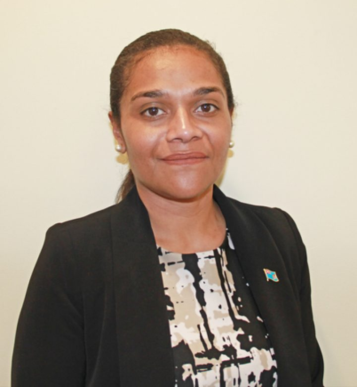 Counsellor Salote Tagivakatini, Fiji High Commission, Canberra
