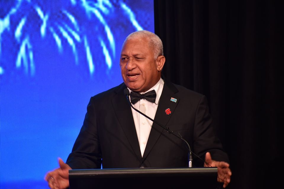 Prime Minister Honourable Josaia Voreqe Bainimarama gala dinner speech