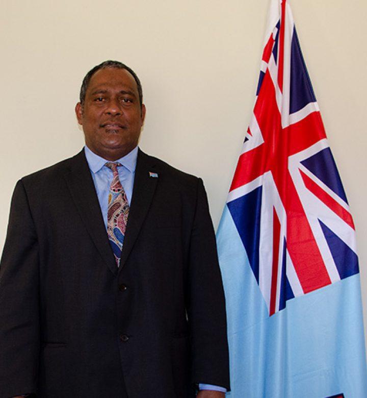 Samisoni Sivoinavatu, Fiji High Commission
