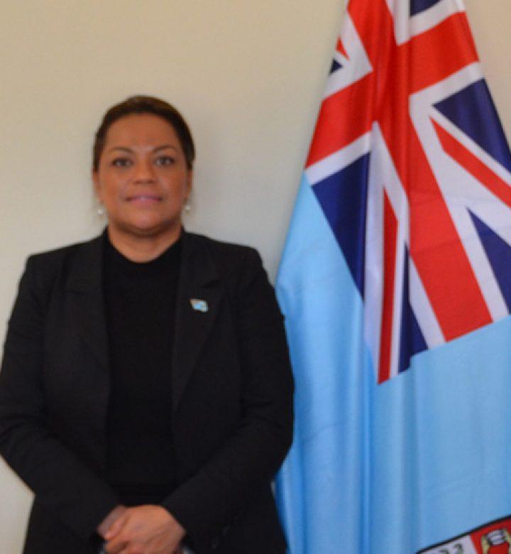 Helen Wakeham, Fiji High Commission, Canberra
