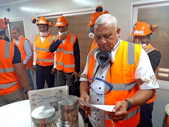 Fiji prime minister frank Josaia Voreqe Bainimarama Sydney visit 3