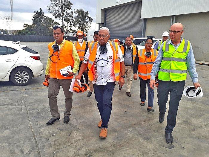 Fiji prime minister frank Josaia Voreqe Bainimarama Sydney visit 6